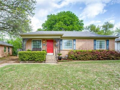Single Family Home Active Option Contract: 4051 Park Lane