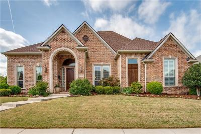 Lewisville Single Family Home Active Option Contract: 2424 Lady Of The Lake Boulevard