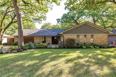 Grapevine Single Family Home Active Option Contract: 2918 S Creekwood Drive