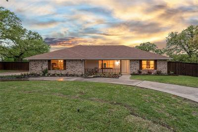 Grapevine Single Family Home Active Contingent: 3710 Kelsey Court
