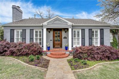 Fort Worth Single Family Home For Sale: 3580 W 4th Street