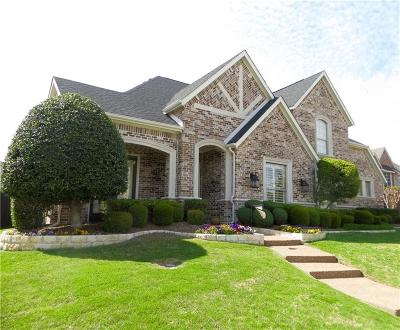 McKinney Single Family Home Active Contingent: 1724 Watersedge Drive