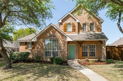 Lewisville Single Family Home Active Option Contract: 1689 Castle Rock Drive