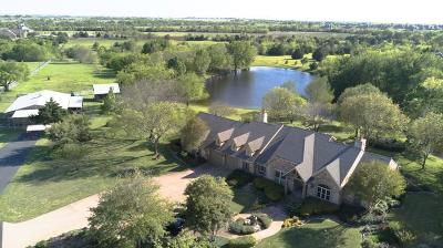 Celina TX Single Family Home Active Option Contract: $1,600,000
