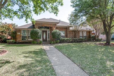 Plano Single Family Home Active Option Contract: 4216 Castlemaine Lane