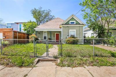 Dallas Single Family Home Active Option Contract: 4217 Roseland Avenue