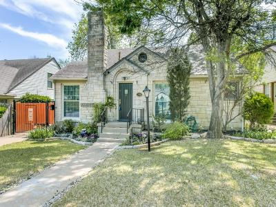 Dallas TX Single Family Home For Sale: $369,000