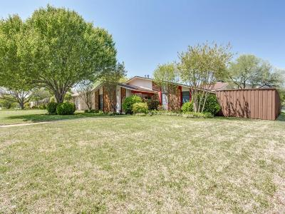 Plano Single Family Home Active Option Contract: 1601 Montana Trail
