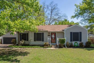 Garland Single Family Home Active Option Contract: 2800 Anita Drive