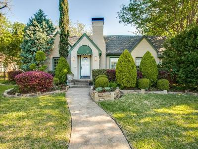 Dallas Single Family Home For Sale: 912 Clermont Street