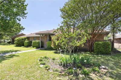 Sachse Single Family Home Active Option Contract: 6323 Sachse Street