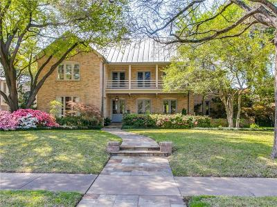 University Park Single Family Home Active Option Contract: 4113 Windsor Parkway