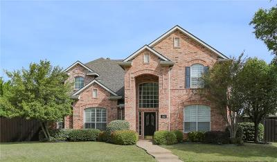Coppell Single Family Home For Sale: 312 Waterview Drive