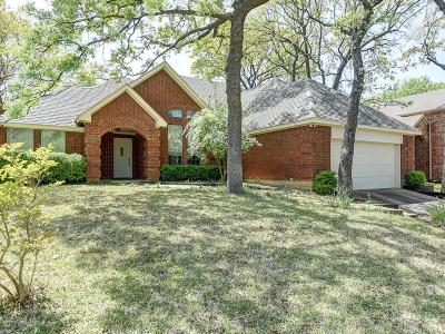 Grapevine Single Family Home Active Option Contract: 2157 S Winding Creek Drive