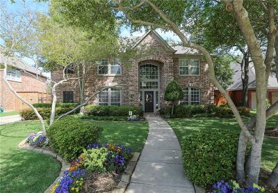 Coppell Single Family Home Active Option Contract: 736 Northshore Court