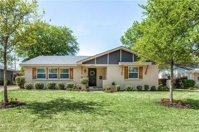 Single Family Home For Sale: 6827 Kingsbury Drive