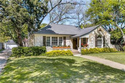 University Park Single Family Home For Sale: 3116 Lovers Lane