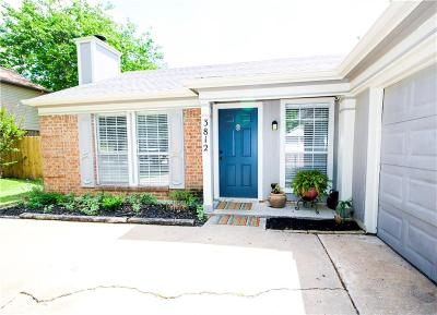 Fort Worth Single Family Home Active Option Contract: 3812 Lightland Road