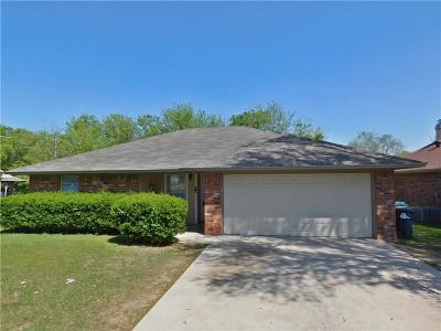 Denton Single Family Home Active Option Contract: 1814 Shawnee Street