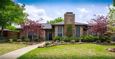 Carrollton Single Family Home Active Option Contract: 2602 Ramblewood Drive