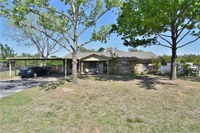 Weatherford Single Family Home Active Option Contract: 2105 Old Brock Road
