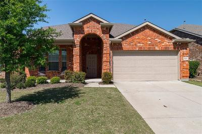 Mckinney Single Family Home Active Option Contract: 2521 Gold Rush Drive