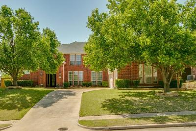 Plano Single Family Home Active Option Contract: 3624 Trail Walker Drive