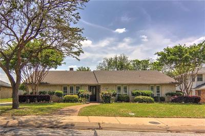 Carrollton Single Family Home Active Option Contract: 2818 Quail Ridge Drive