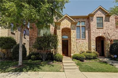 Plano Townhouse Active Contingent: 4675 Edith Street