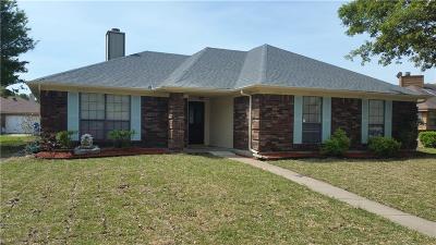 Rowlett Single Family Home For Sale: 2318 Cortland Circle