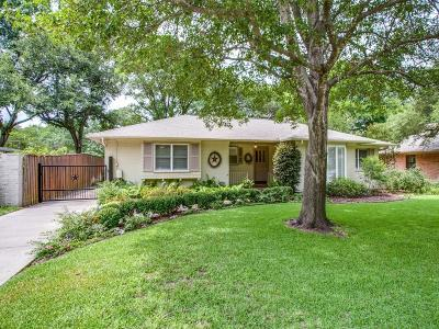 Richardson Single Family Home For Sale: 819 Westwood Drive