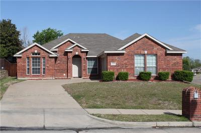 Mesquite Single Family Home Active Option Contract: 4633 Bonnywood Drive