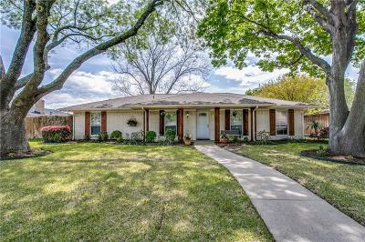 Plano Single Family Home Active Option Contract: 2016 Westlake Drive