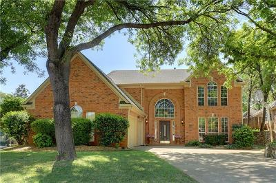 Grapevine Single Family Home For Sale: 1801 Branch Hollow Lane