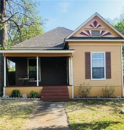 Denison Single Family Home For Sale: 1318 W Sears Street