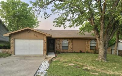 Garland Single Family Home Active Option Contract: 1921 Angelina Drive