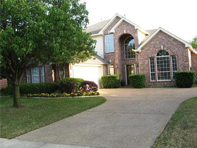 Coppell Single Family Home For Sale: 1413 Pebble Creek Drive