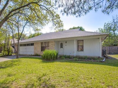 Denton Single Family Home Active Option Contract: 2309 N Lake Trail