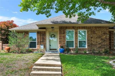 Coppell Single Family Home Active Option Contract: 307 Aspenway Drive