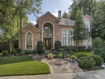 Richardson Single Family Home Active Option Contract: 3408 Springbranch Drive