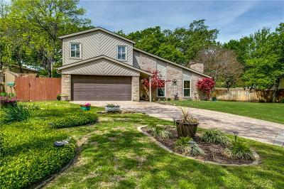 Grapevine Single Family Home Active Option Contract: 2335 Robin Court