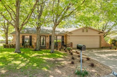 Benbrook Single Family Home Active Option Contract: 1212 Duane Street
