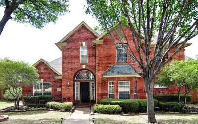 Allen Single Family Home Active Option Contract: 506 Riverside Court