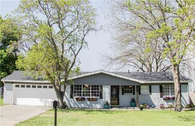 Benbrook Single Family Home Active Option Contract: 105 Vernon Castle Avenue