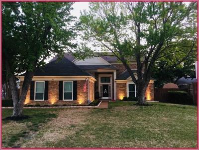 Hurst Single Family Home Active Option Contract: 721 Bridget Way