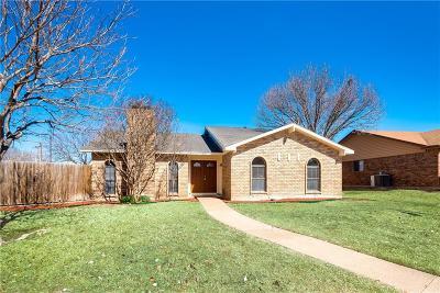 Carrollton Single Family Home Active Option Contract: 2144 Courtland Circle