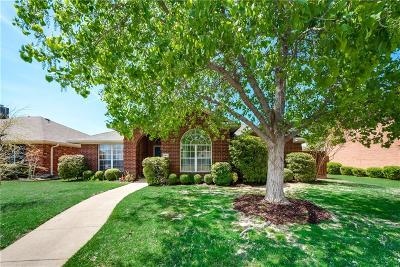Allen Single Family Home Active Option Contract: 744 Summerfield Drive