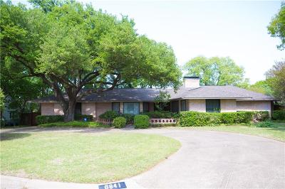 Single Family Home For Sale: 6841 Greenwich Lane