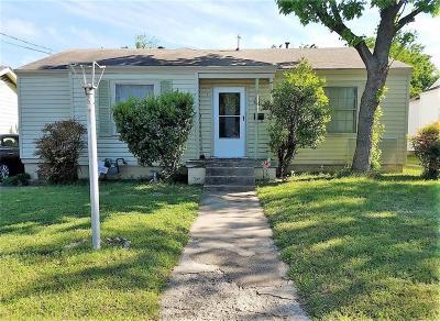 Dallas Single Family Home For Sale: 3622 Falls Drive