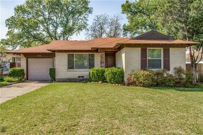 Dallas Single Family Home For Sale: 6709 Hialeah Drive
